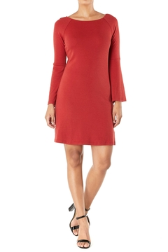 Aryeh Bell-Sleeve Knit Dress - Product List Image