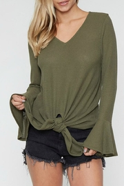 Fantastic Fawn Bell Sleeve Knot-Front - Product Mini Image