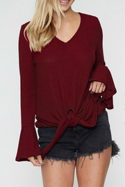 Fantastic Fawn Bell-Sleeve Knot Front - Product Mini Image