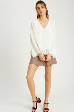 Wishlist Bell Sleeve Layered Blouse - Product List Image