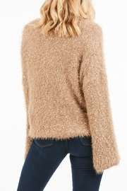 Very J  Bell Sleeve Nubby Knit Sweater - Front full body