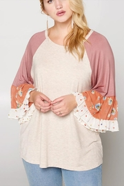 Oddi Bell Sleeve Raglan - Product Mini Image