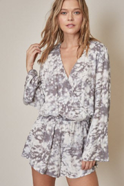 R+D  Bell Sleeve Romper - Product Mini Image