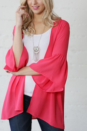 WannB Bell Sleeve Spring Cardi - Product Mini Image