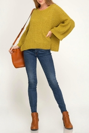 She + Sky Bell Sleeve Sweater - Product Mini Image