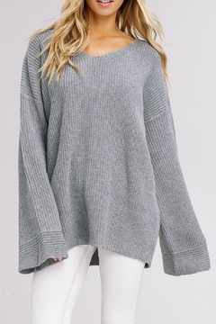 Listicle Bell Sleeve Sweater - Product List Image
