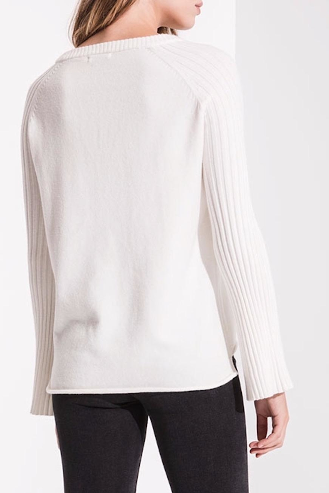 rag poets Bell Sleeve Sweater - Side Cropped Image