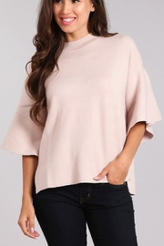 Blvd Bell Sleeve Sweater - Front cropped