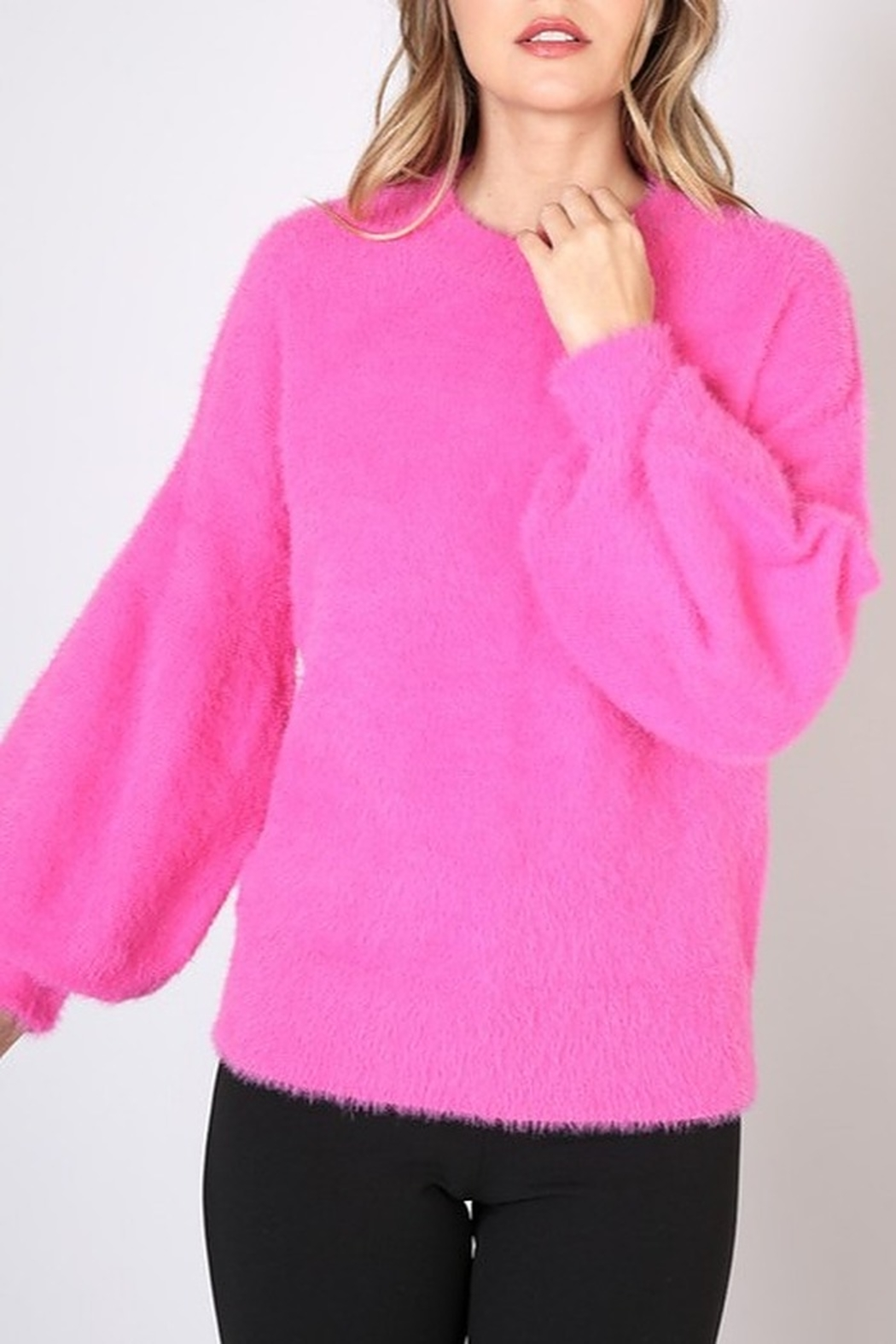 Do & Be Bell Sleeve Sweater - Front Cropped Image