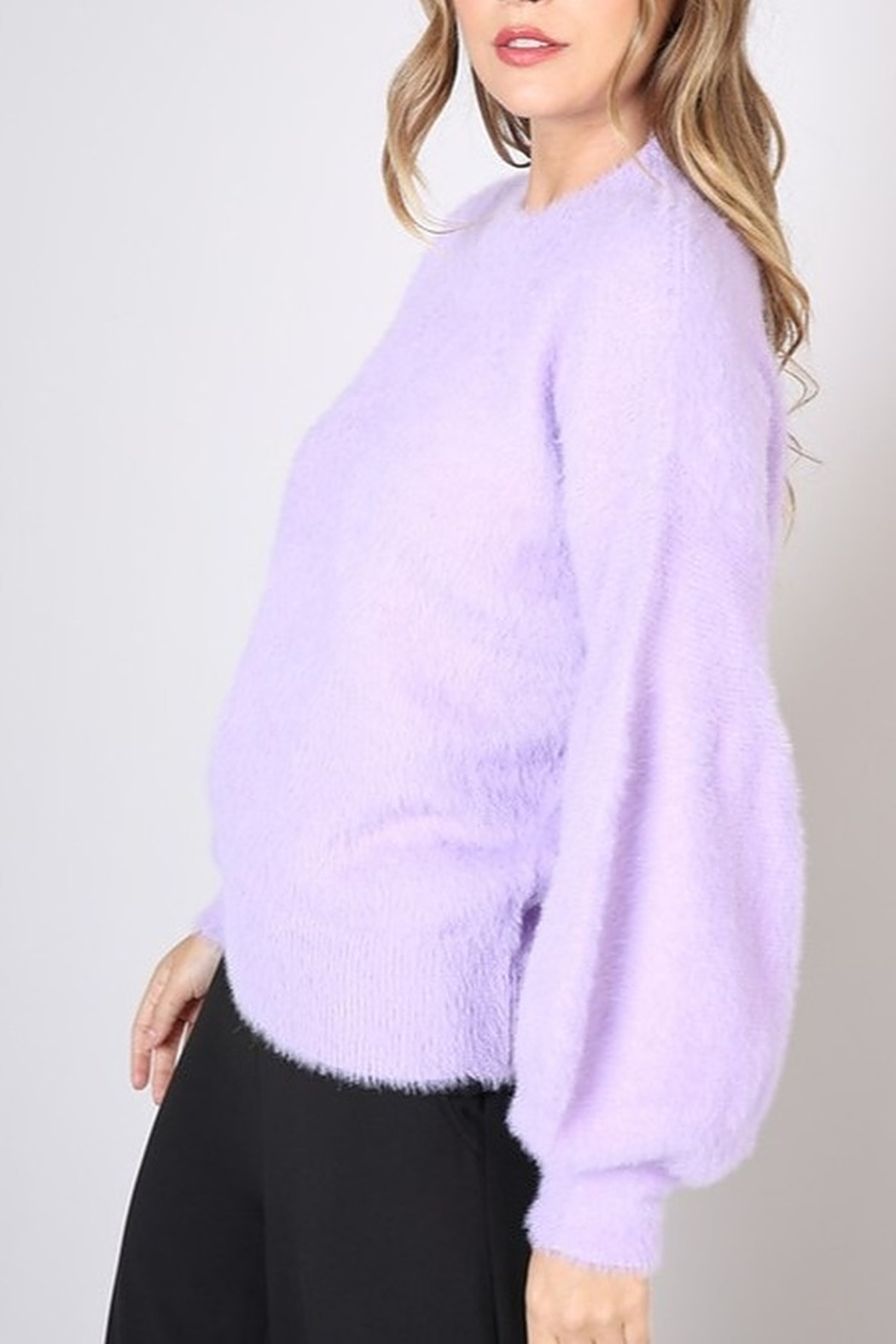 Do & Be Bell Sleeve Sweater - Front Full Image