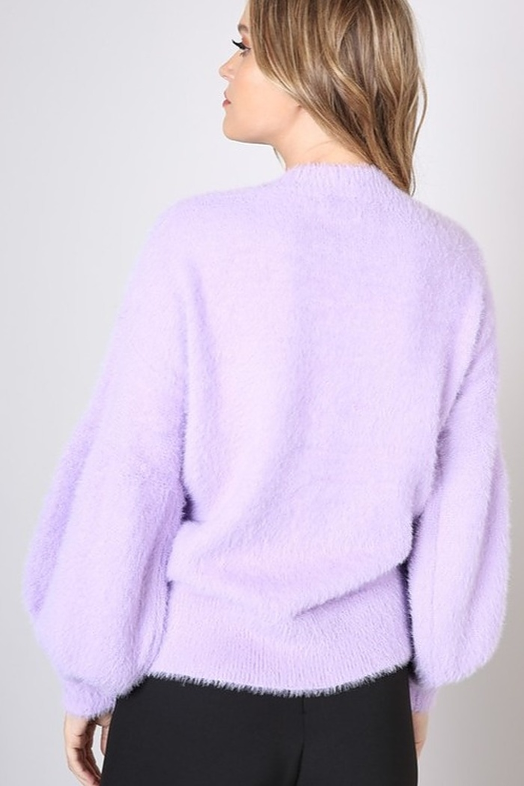 Do & Be Bell Sleeve Sweater - Side Cropped Image