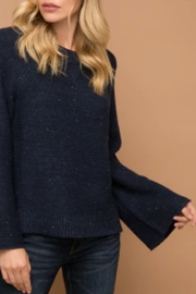 Hem & Thread Bell Sleeve Sweater - Front cropped