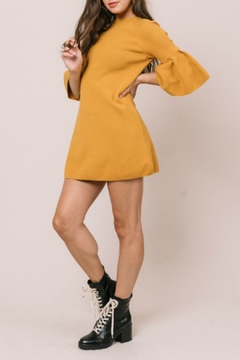 Shoptiques Product: Bell Sleeve Sweater Dress
