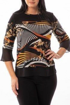 Bali Corp. Bell Sleeve Sweater Top - Product List Image