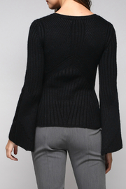 Do & Be Bell Sleeve Sweater With Rib Details - Side cropped