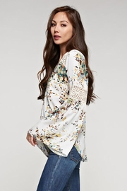 Lovestitch Bell Sleeve Top - Back cropped