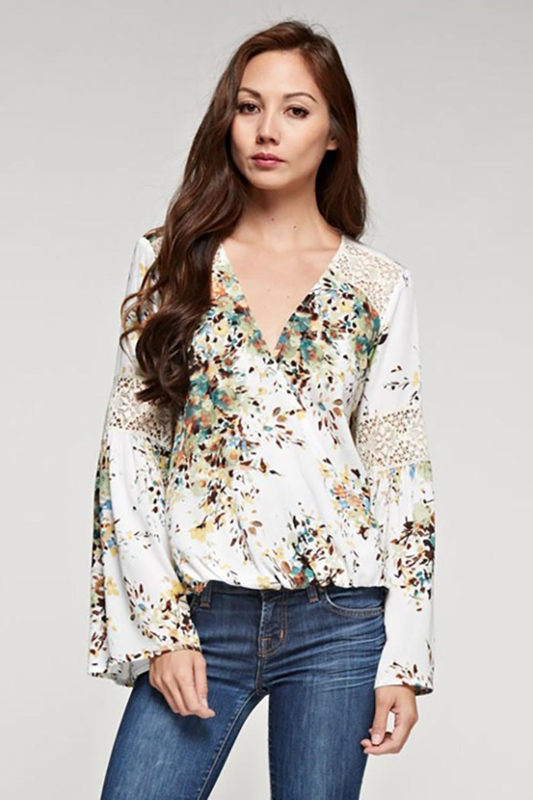 Lovestitch Bell Sleeve Top - Main Image