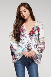 Lovestitch Bell Sleeve Top - Front cropped