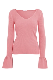 Minnie Rose Bell Sleeve Top - Product Mini Image