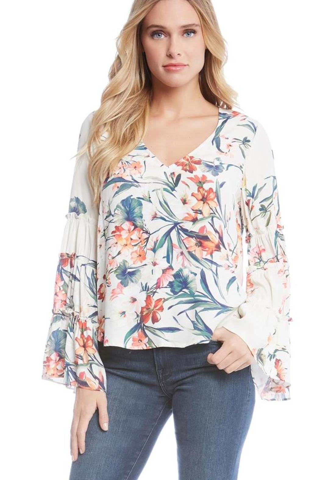 Fifteen Twenty Bell Sleeve Top - Main Image
