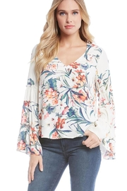 Fifteen Twenty Bell Sleeve Top - Front cropped