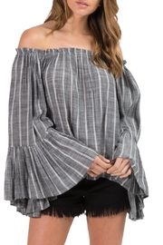 Elan Bell Sleeve Top - Front cropped