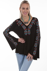 Scully Bell Sleeve Top - Product Mini Image