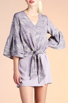 Tyche Bell Sleeve  Top - Product List Image