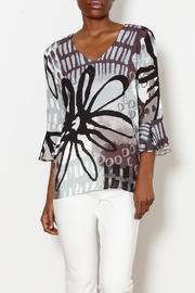 Dolcezza Bell Sleeve Top - Product Mini Image