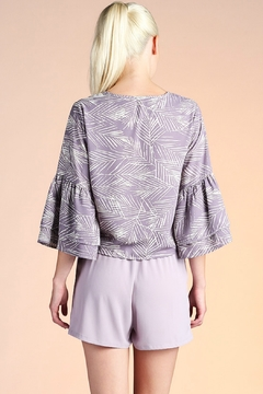 Tyche Bell Sleeve  Top - Alternate List Image