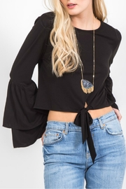 Very J Bell Sleeve Top - Product Mini Image