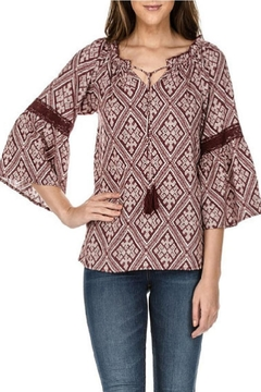 Jade Bell Sleeve Top - Product List Image