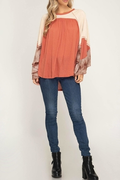 30ed3bde9a4c Shoptiques Product  Bell Sleeve Top Shoptiques Product  Bell Sleeve Top. She  + Sky