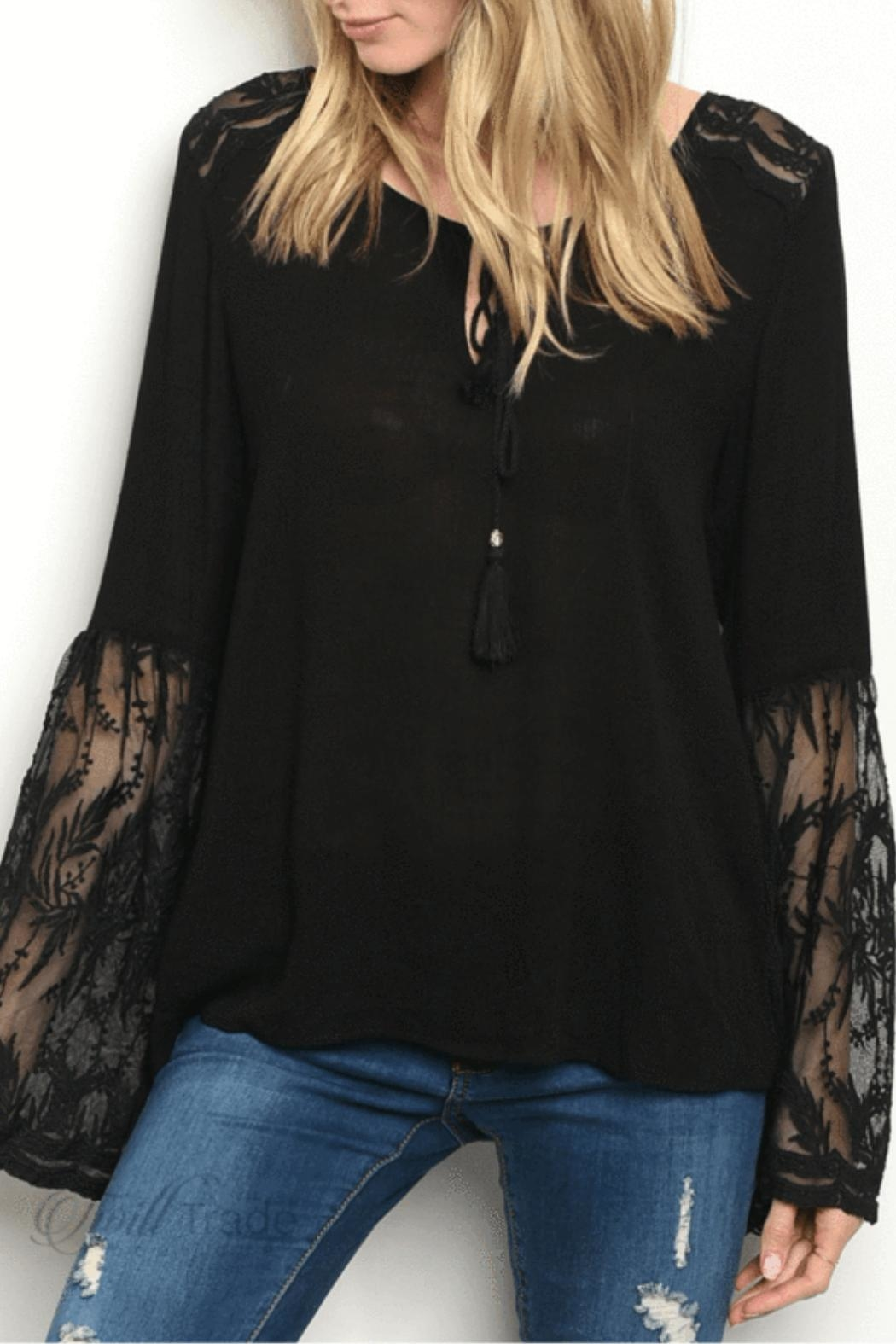 LoveRiche Bell Sleeve Top - Main Image