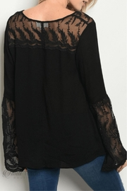 LoveRiche Bell Sleeve Top - Front full body