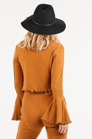 Very J  Bell Sleeve Top - Front full body