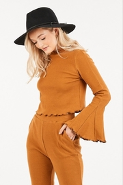 Very J  Bell Sleeve Top - Front cropped