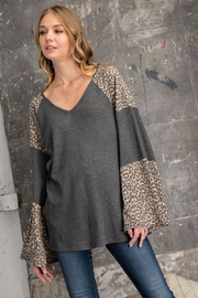 FSL Apparel Bell Sleeve Top - Product Mini Image