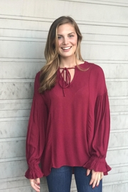 LoveRiche Bell Sleeve Tunic - Product Mini Image