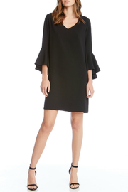 Fifteen Twenty Bell Sleeve V-Neck Dress - Product Mini Image