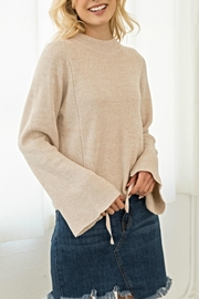 Hem & Thread Bell Ties Sweater - Product Mini Image