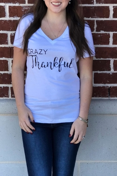 Shoptiques Product: Crazy Thankful Tee