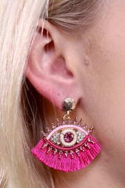 Caroline Hill Bella Donna Earrings - Product Mini Image