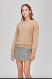 Greylin Bella Fuzzy Knit Pullover - Front cropped