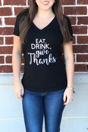 Bella Give Thanks Tee - Front cropped