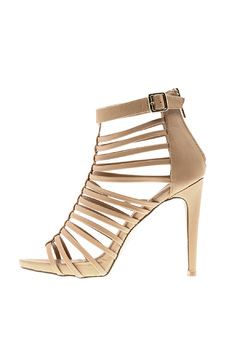 Bella Marie Open Toe Cage Heel - Product List Image