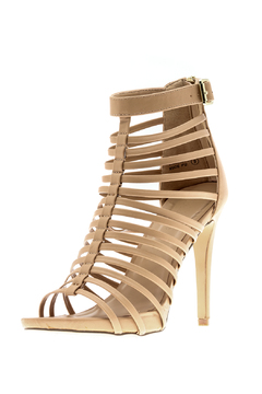 Bella Marie Open Toe Cage Heel - Alternate List Image