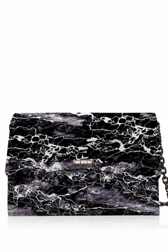 Save My Bag Bella Maxi Lycra Marble  Print BAg - Product List Image