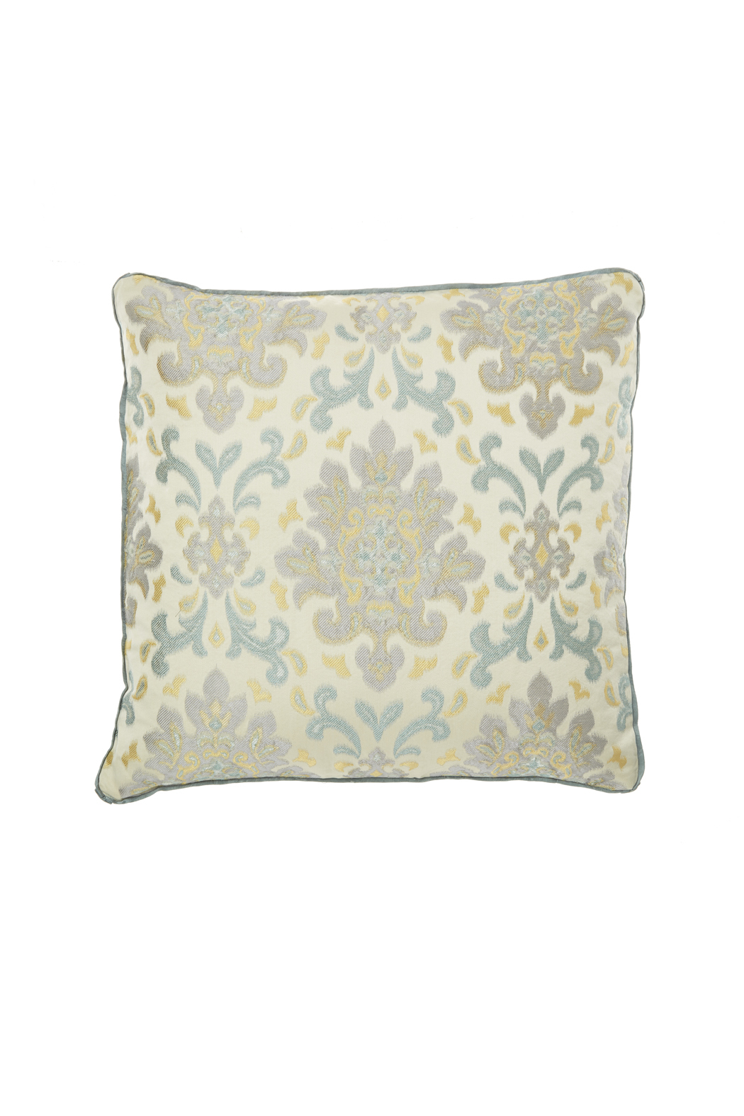 Jacquard Decorative Pillows : Bella Notte Jacquard Throw Pillow from Omaha by Early To Bed ? Shoptiques