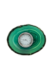 Bella's House Green Agate Clock - Product Mini Image